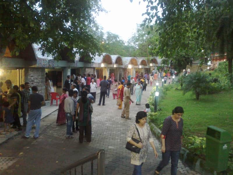 Urban Haat offers a relaxed shopping experience