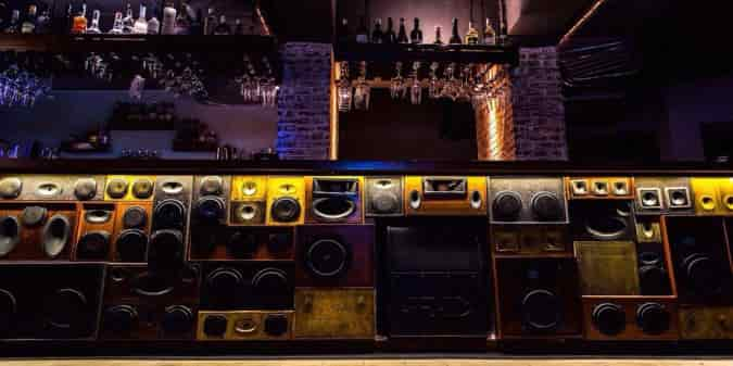 While you're dancing, take a minute to appreciate the awesome décor at Radio Bar