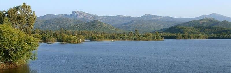 A view of the Biligirirangana Hills
