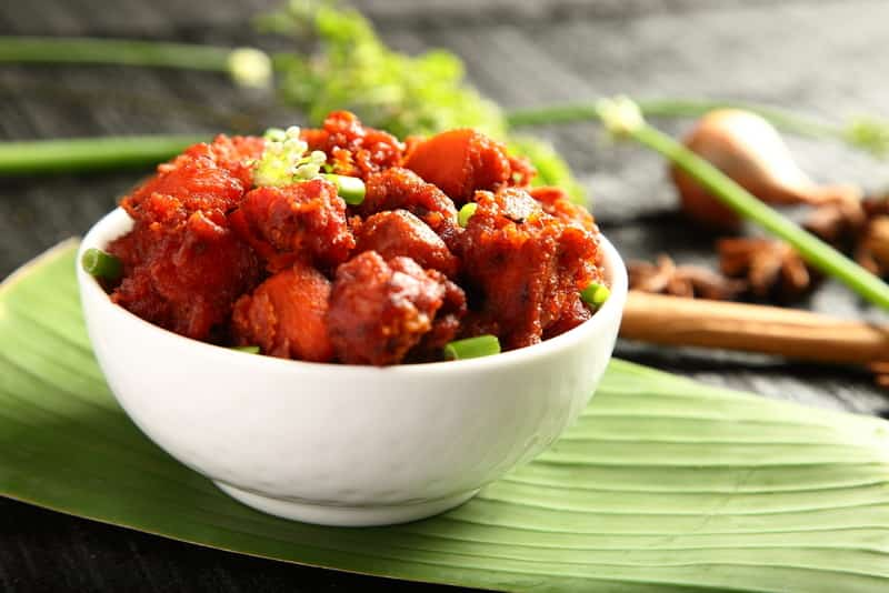 Andhra's own version of Chilli Chicken in Vijayawada