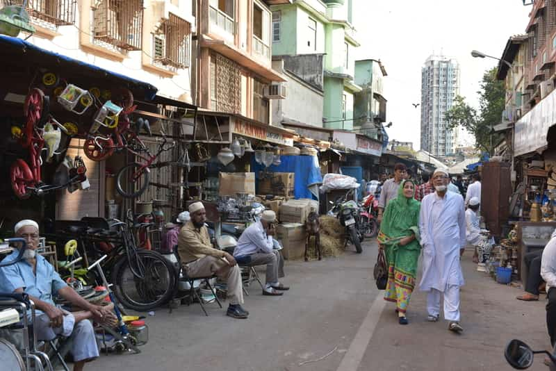 Bargaining is a good adventure at the Chor Bazaar