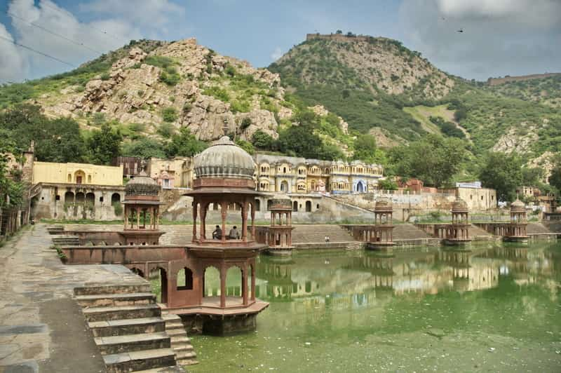 Beautiful landscape at Alwar