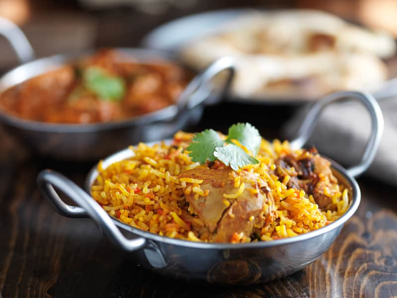 Biryani is a popular dish in Nagpur