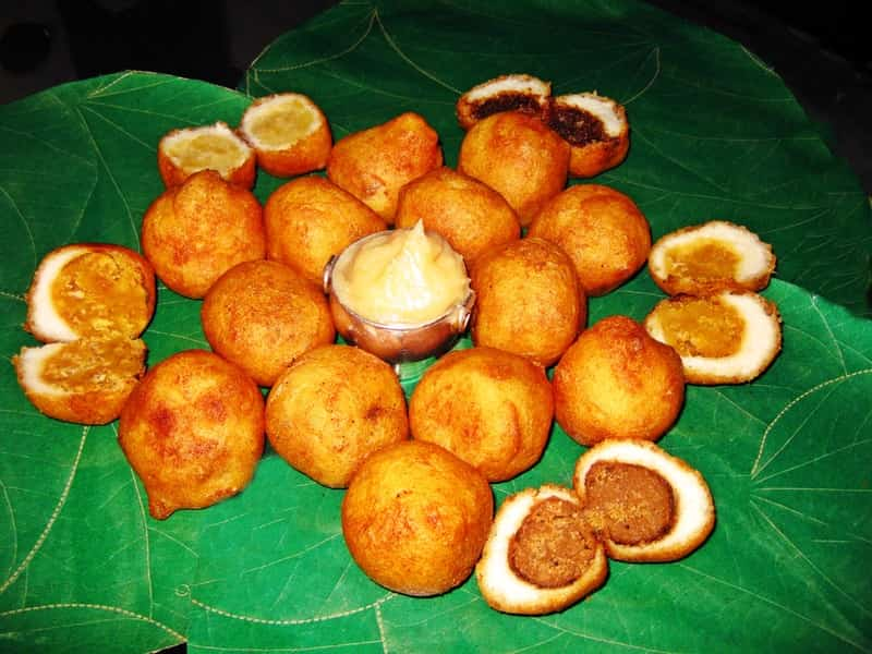 Boorelu, a popular sweet dish in Vijayawada