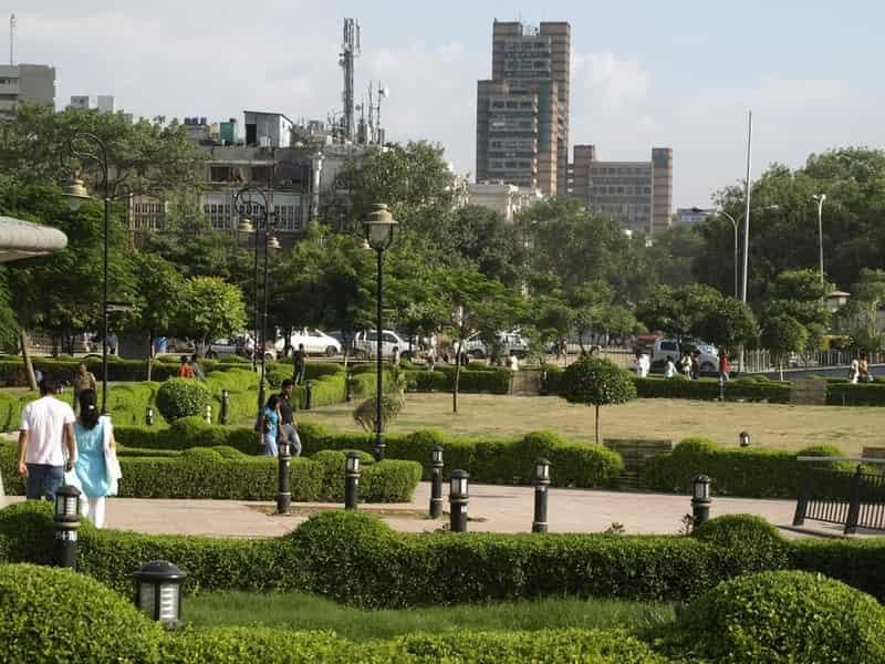 Central Park, Rajiv Chowk