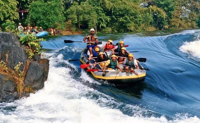 Coorg is a great place for river rafting