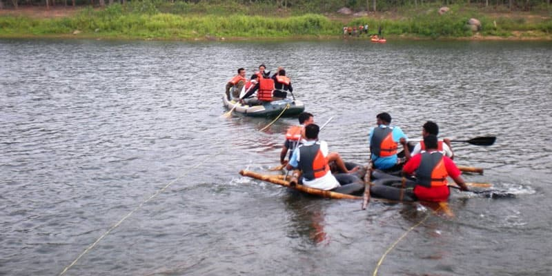 Enjoy Water Sports at the Manchinbele Camp