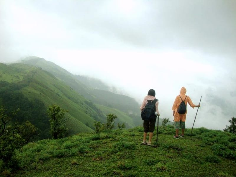 Enjoy treks at the Madikeri Camp
