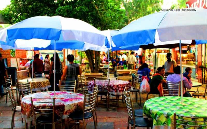 Food Stalls at Dilli Haat