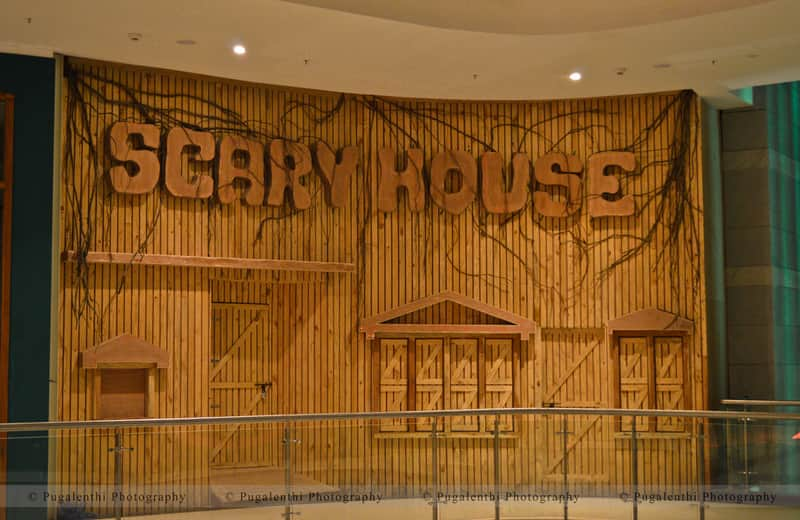 GVK One Mall Scary House