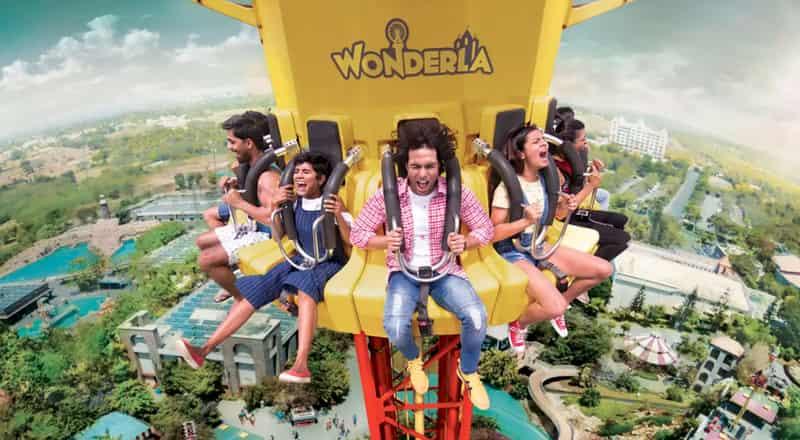 Have fun on thrilling rides at Wonderla