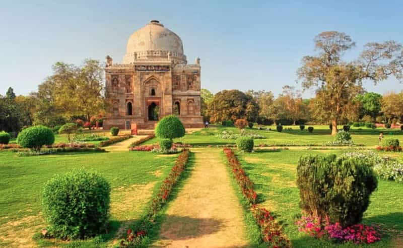 The Lodhi Gardens is a must visit place for families