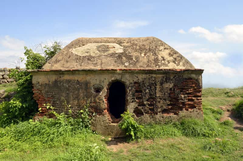 Makalidurga hill top tomb