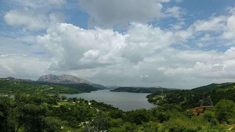 Manchanabele Dam near Savanadurga