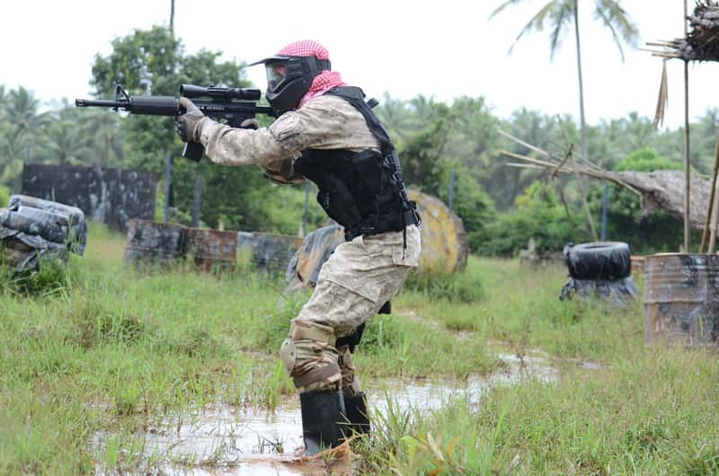 Paint Ball Adventure at Nuvem