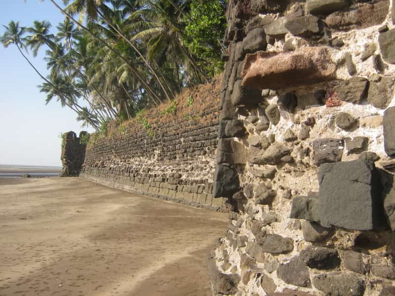 Revdanda Fort and Beach