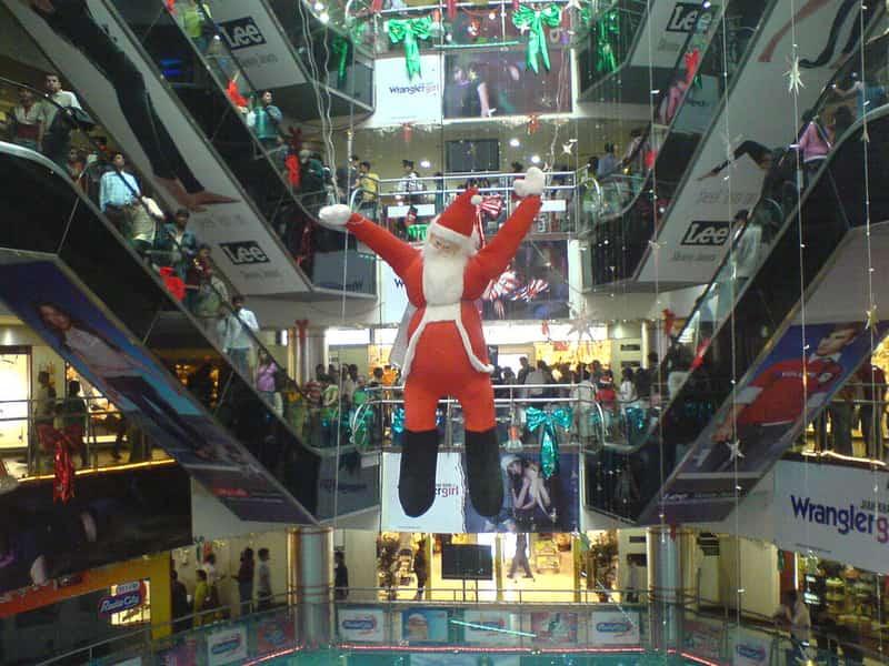 Santa Claus at Garuda Mall