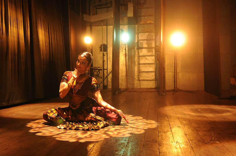Savitha Sastry performing Soul Cages at Kamani Auditorium