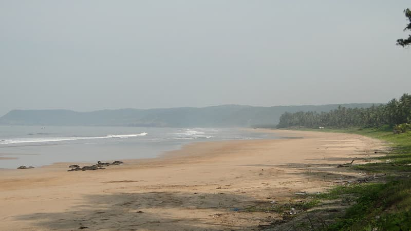 Serene and Secluded Guhagar Beach