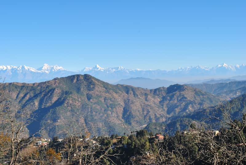 Stunning scenery at Mukteshwar