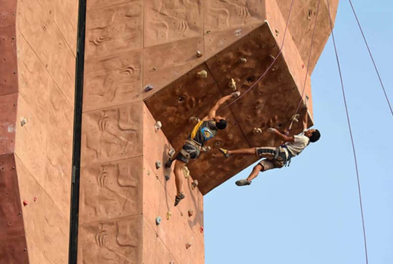 Test your climbing skills at the Indian Mountaineering Foundation Adventures