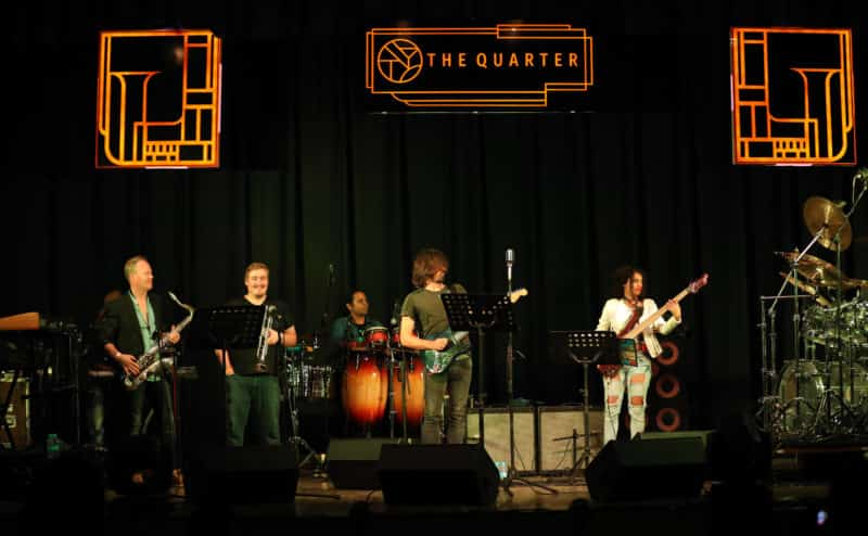 The Quarter is a good night time place to check out live music
