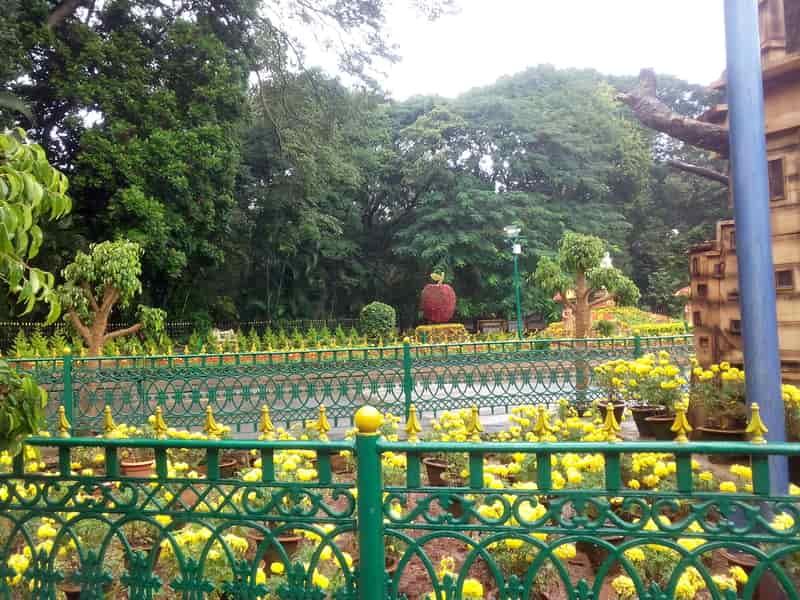 The center of Cubbon Park