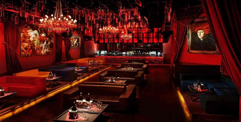 The cosmopolitan interiors of Club Pangaea