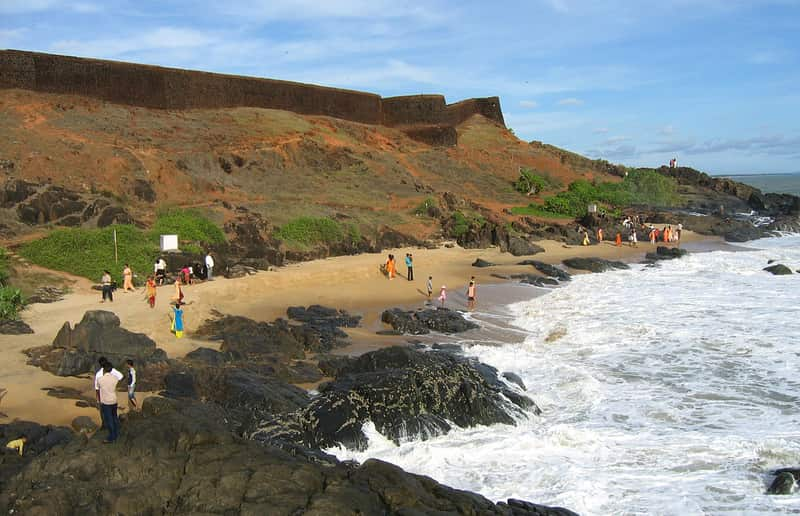 Bekal Fort Beach, Kasargod