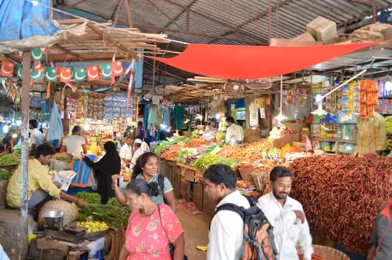 Covered Margao Market