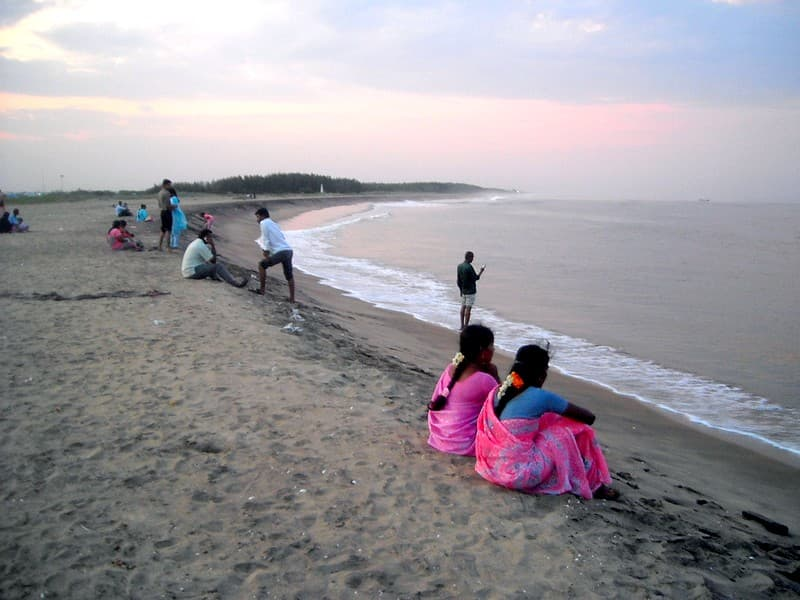 Karaikal Beach, Pondicherry