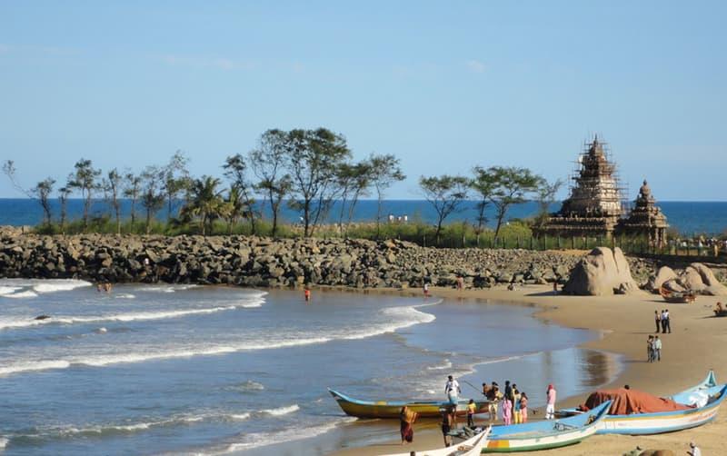 Mahabalipuram Beach, Mahabalipuram