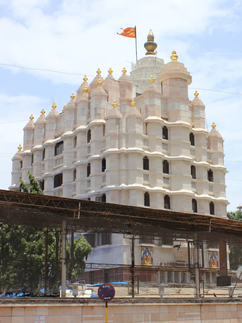 A famous temple in Mumbai