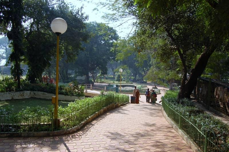A gorgeous garden in Malabar Hill