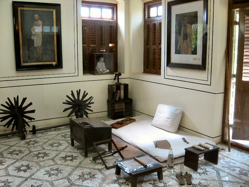 A museum dedicated to Mahatma Gandhi