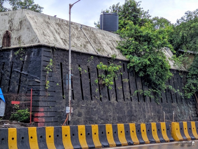 An old fort in South Mumbai