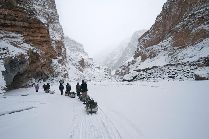 Chadar Trek on frozen Zanskar