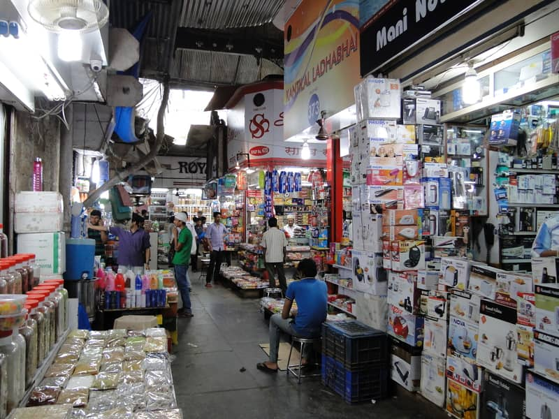Crawford Market is a popular shopping centre in Mumbai
