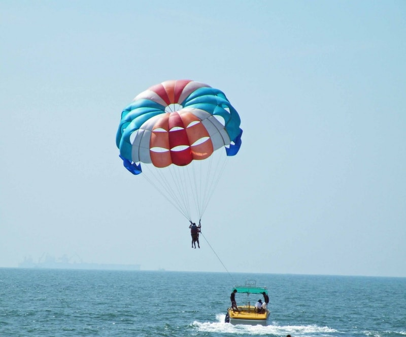 See Goa in a whole new way with paragliding
