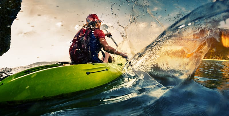 Dandeli is popular for watersports