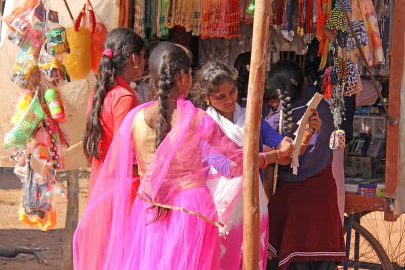 Hampi Bazaar