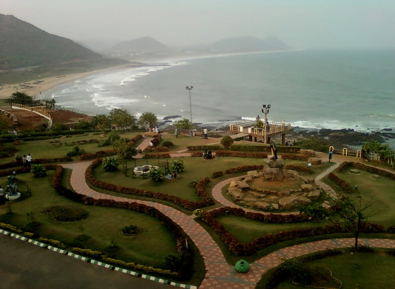 Amazing views from Tenneti Park