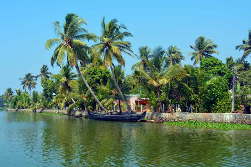 Backwaters in Kerala