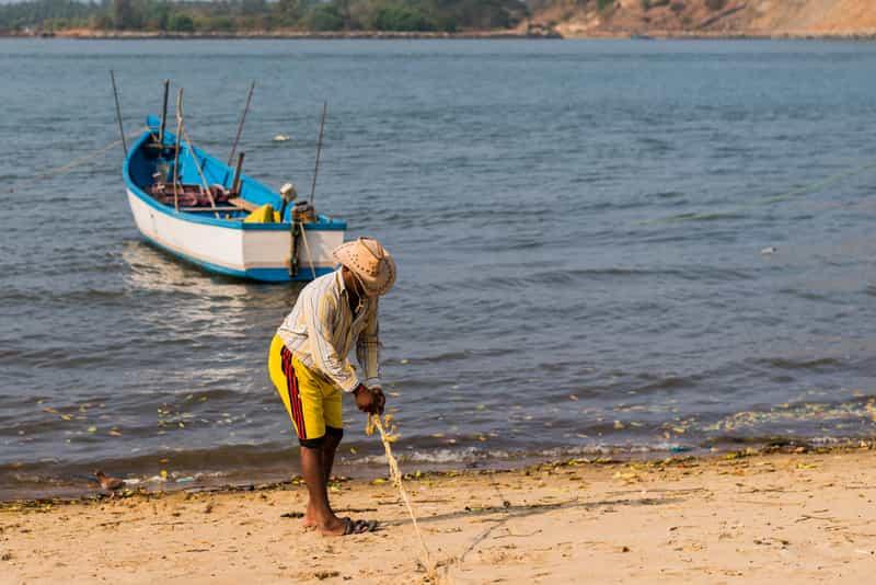 Fisherman in Karwar