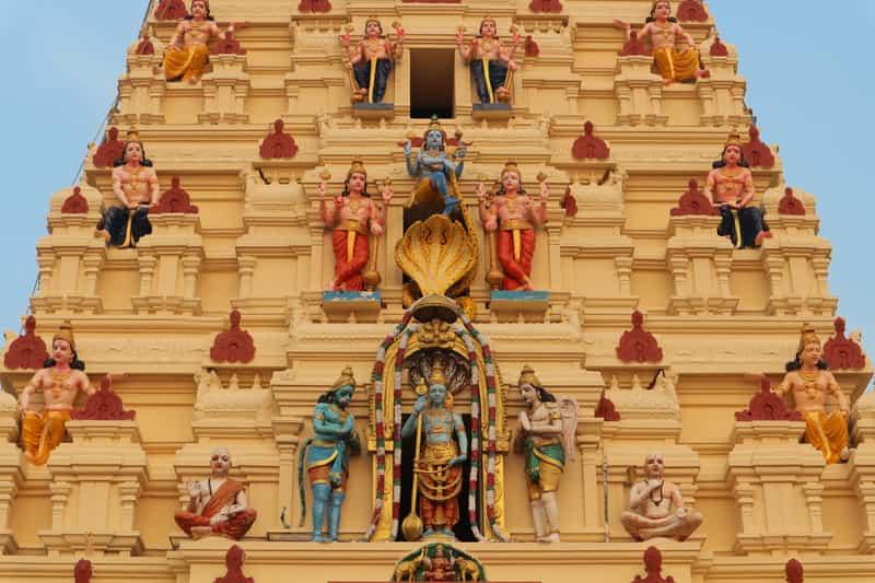 Gopuram of Sri Krishna Temple
