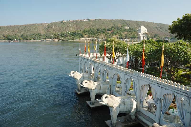 Jag Mandir Palace view