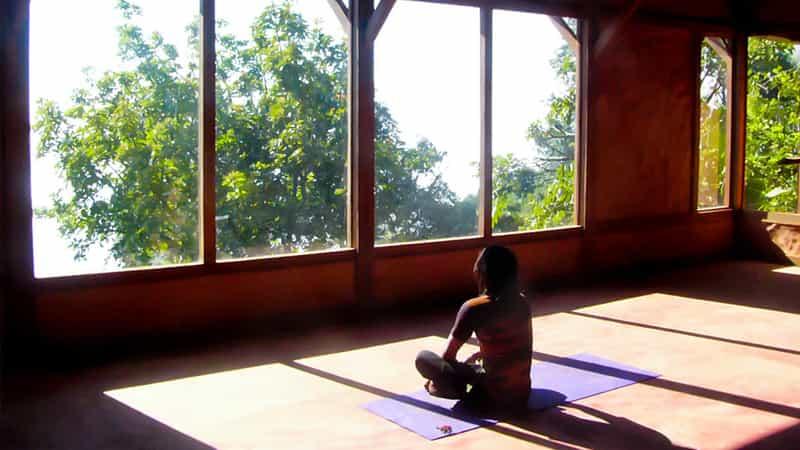 Meditation at Karuna Farm