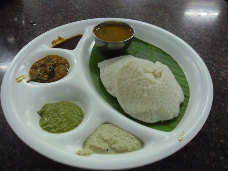 Midnight Idli at Rly Station