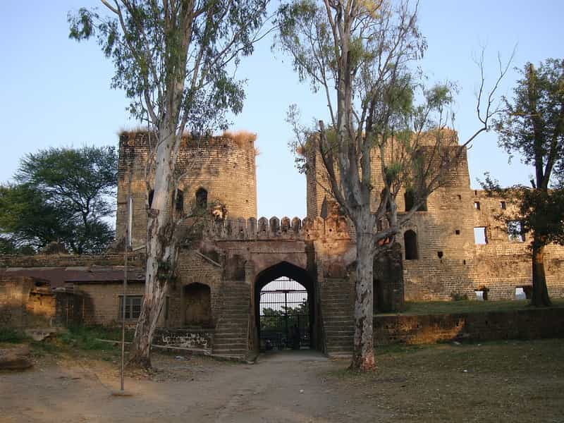 Nurpur Fort entrance