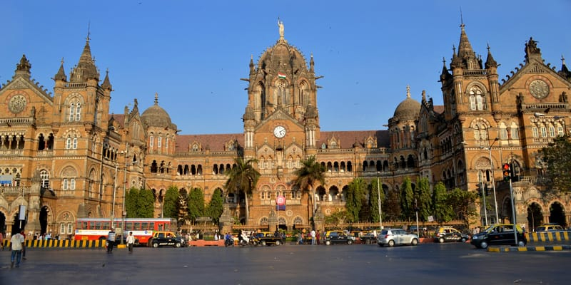The CST Railway Station
